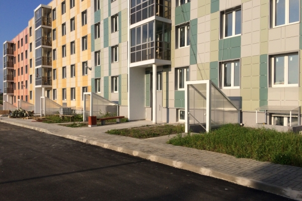 Жилой многоквартирный дом в Ленинградской области