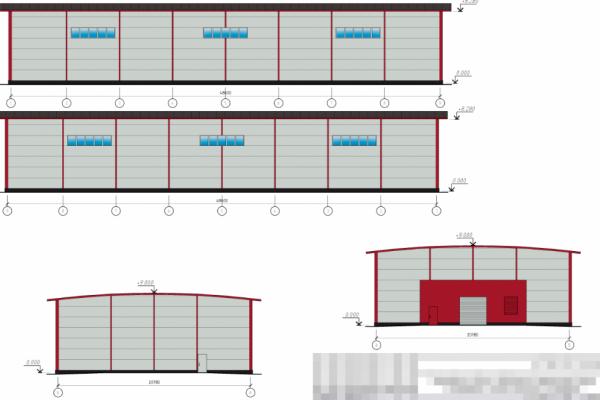 Здание складского назначения 1000 м2