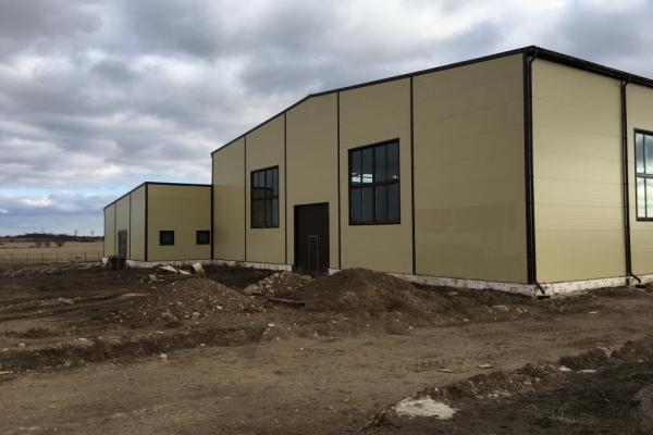 Производственный корпус в Ленинградской области