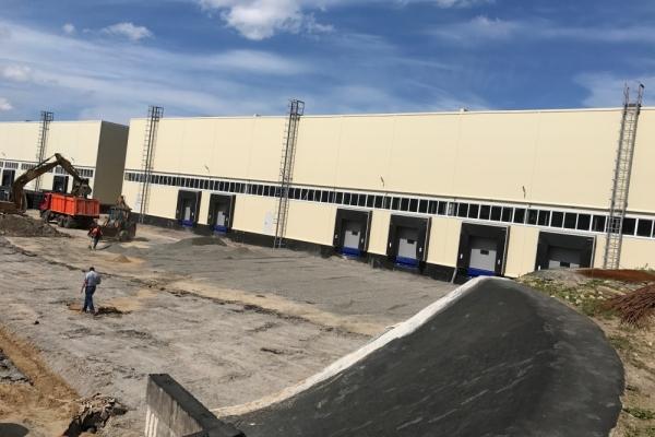 Здание складского назначения 2823 м2